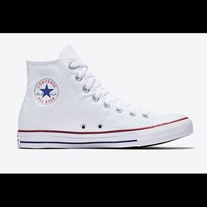 Converse All Star High Top White Sneakers